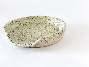 Speckle Spoon Holder Mint A