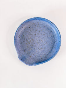 Speckle Spoon Holder Blue A