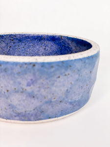 Small Speckle Bowl Blue