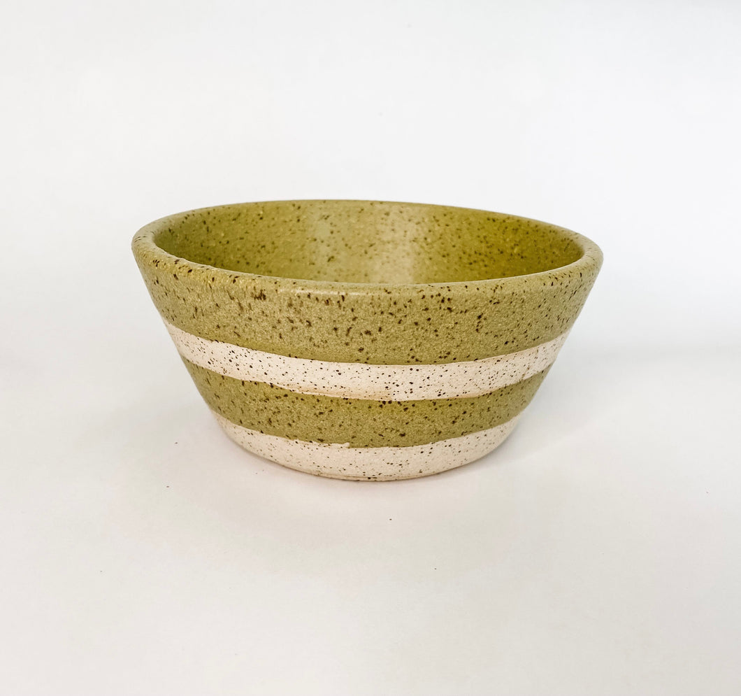 Pear Speckle Bowl