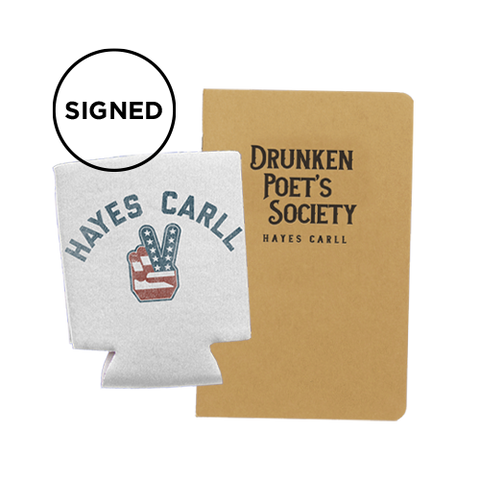 Drunken Poets Bundle: Signed Koozie + Signed DPS Journal