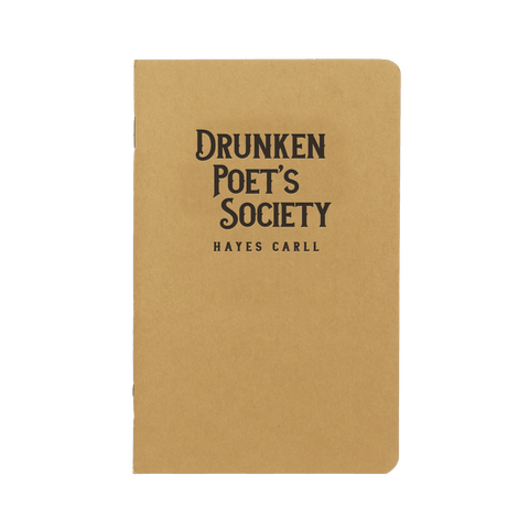 Drunken Poets Society Notebook