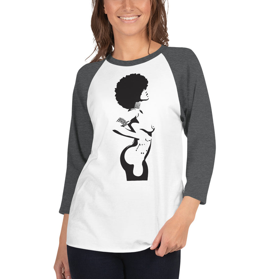 3/4 Sleeve Women's Raglan Shirt