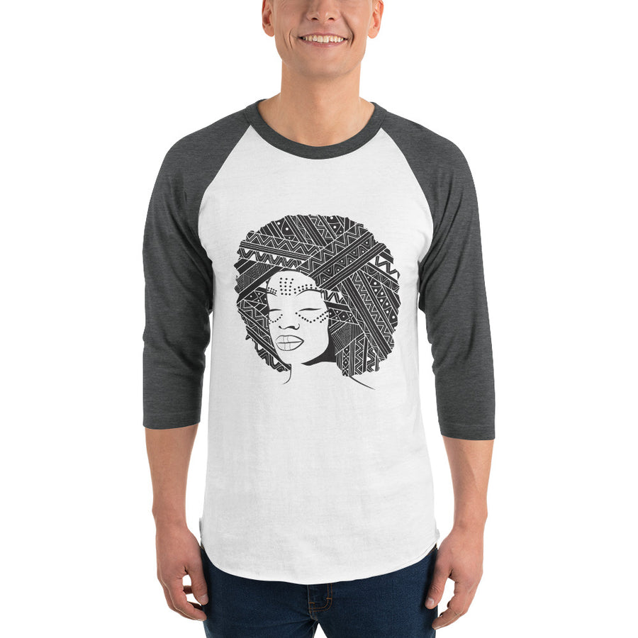 3/4 Sleeve Personalized Raglan Shirt