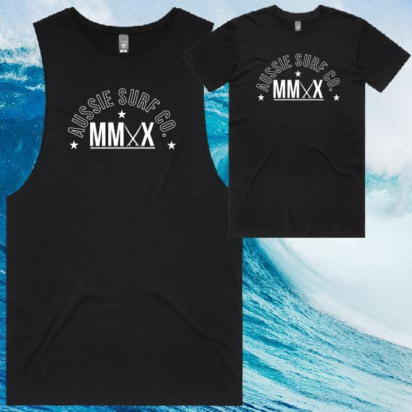 ASC MMXX Front Logo Print Tee or Muscle