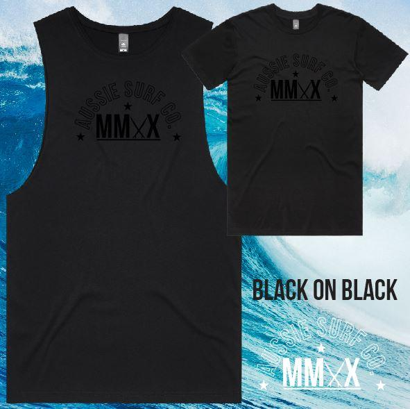 ASC MMXX Front Print Tee or Muscle