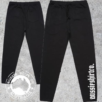 Aussie Shirt Co - Mens - Track Pants -  ASC leg print