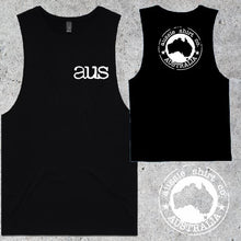 Load image into Gallery viewer, Aussie Shirt Co - Muscle Tee - Mens - AUS