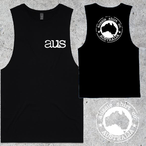 Aussie Shirt Co - Muscle Tee - Mens - AUS