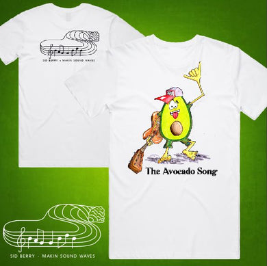 Sid Berry - T-Shirt - Womens - The Avocado Song
