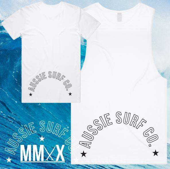 ASC KIDS MMXX BACK PRINT WHITE