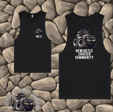 Newcastle Cruiser Community - Tank/Muscle - Mens - Black