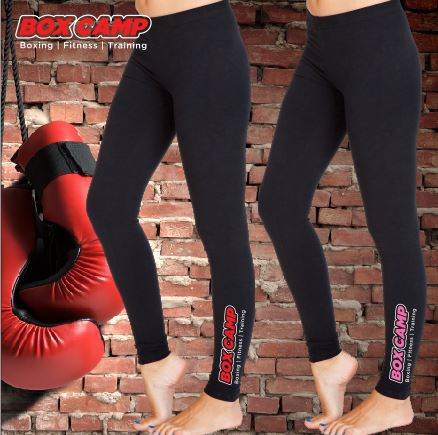 BOX CAMP - Full Length Leggings - Ladies - Black