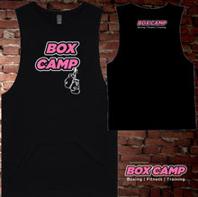Load image into Gallery viewer, BOX CAMP - Muscle Tee - Kids - Black