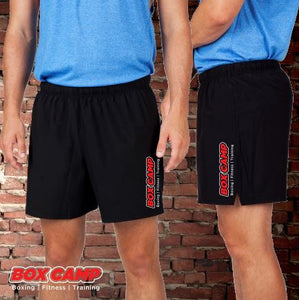BOX CAMP - Gym Shorts - Kids - Black