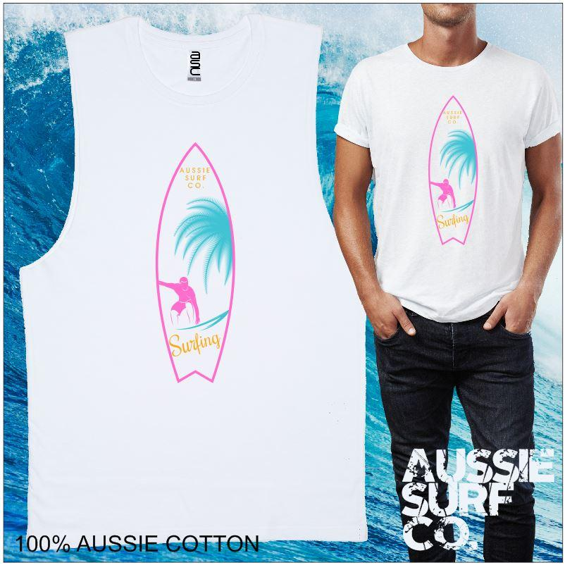 Aussie Surf Co -  Surfboard Print - Kids