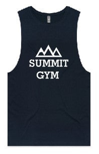 Summit Gym - Barnard Tank -Centre Print - Mens