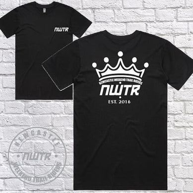 NWTR - Newcastle Weekend Trail Riders - Members T-Shirt - Crown