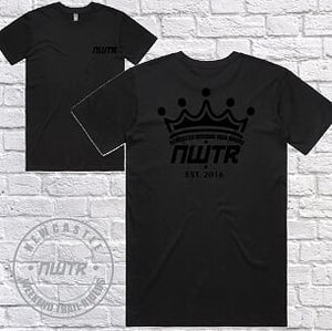 NWTR - Newcastle Weekend Trail Riders - Members T-Shirt - Black Crown