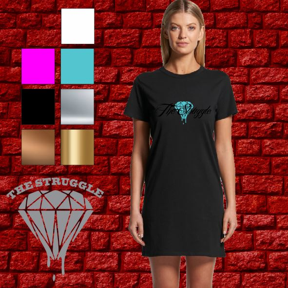 The Struggle - T-Shirt Dress - Ladies - Summer Design