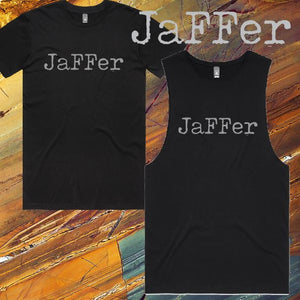 JaFFer - T-Shirt or Tank - Mens/Womens - Black
