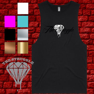 THE STRUGGLE - Muscle Tee -  Ladies  - Summer Design