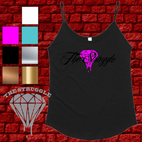 The Struggle - Singlet - Ladies  - Summer Design