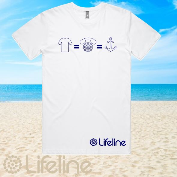 Lifeline - T-Shirt - Mens - White