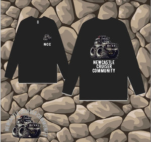 Newcastle Cruiser Community - Long Sleeve T-Shirt - Mens - Black