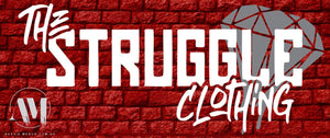 THE STRUGGLE - Bumper Sticker
