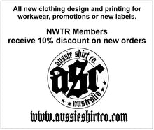 Load image into Gallery viewer, NWTR - Newcastle Weekend Trail Riders - Members - T-Shirt - White