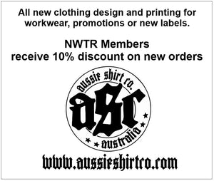 NWTR - Newcastle Weekend Trail Riders - Members Tank - White