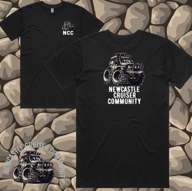 Newcastle Cruiser Community - T-Shirt - Mens - Black