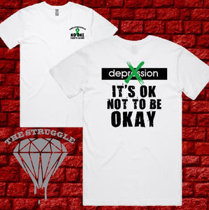 THE STRUGGLE - T-Shirt - NOT OK