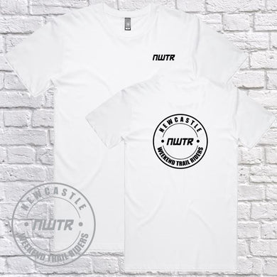 NWTR - Newcastle Weekend Trail Riders - Members - T-Shirt - White