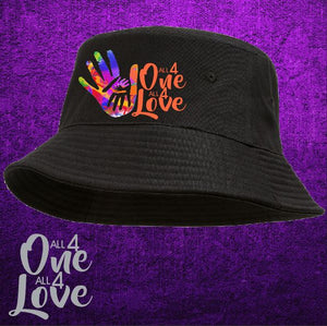 ALL 4 ONE ALL 4 LOVE -  Bucket Hat