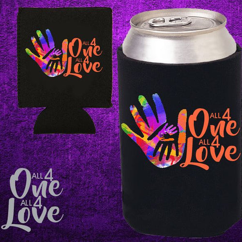 ALL 4 ONE ALL 4 LOVE - Can Cooler