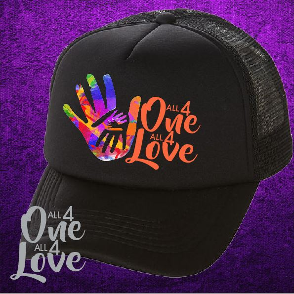 ALL 4 ONE ALL 4 LOVE - Trucker Cap