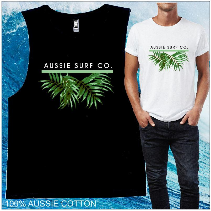 Aussie Surf Co  Green Palm
