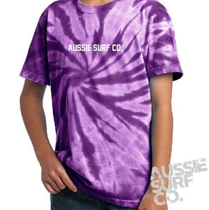 ASC Purple Tie Dye - Tee or Cut Sleeve Kids