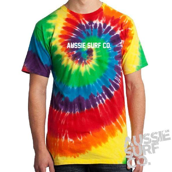 ASC Multi Tie Dye - Tee or Cut Sleeve Adult