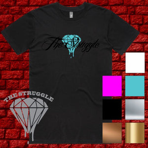 THE STRUGGLE - T-Shirt - Unisex - Summer Design