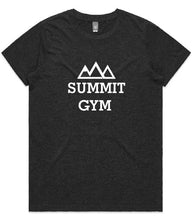Load image into Gallery viewer, Summit Gym T-Shirt - Centre Print - Womens