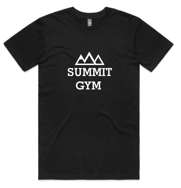 Summit Gym T-Shirt - Centre Print - Mens