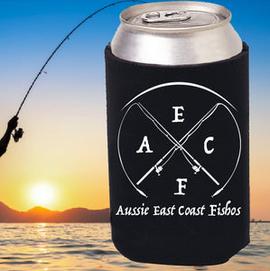 Aussie East Coast Fishos - Can Stubbie Cooler