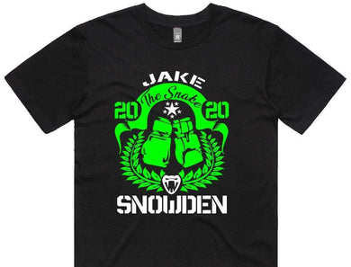 Jake the Snake Snowden - Supporters Shirt - Box Camp