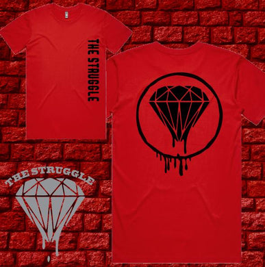 THE STRUGGLE - T-Shirt - Red Edition