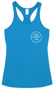Summit Gym- T-back Singlet -  Womens