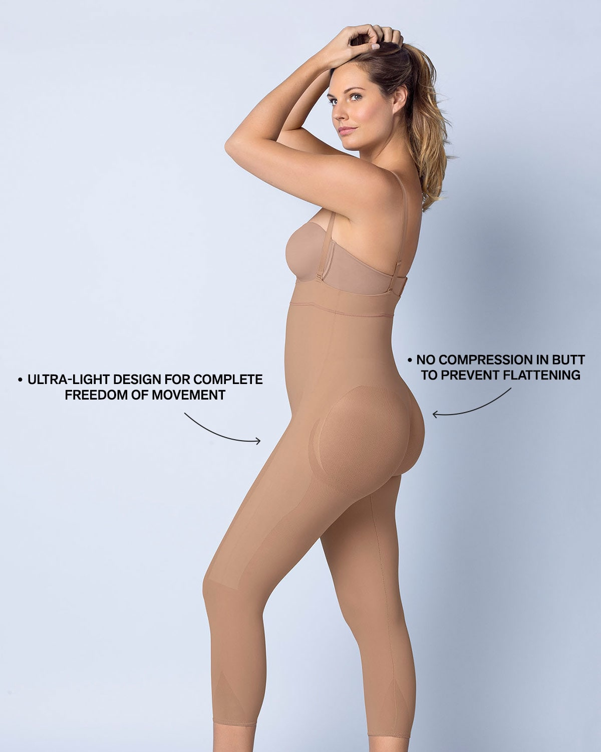 2fb801f6a Invisible Body Shaper with Leg Compression and Butt Lifter - A ...