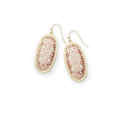 Elle Drop Earrings Filigree